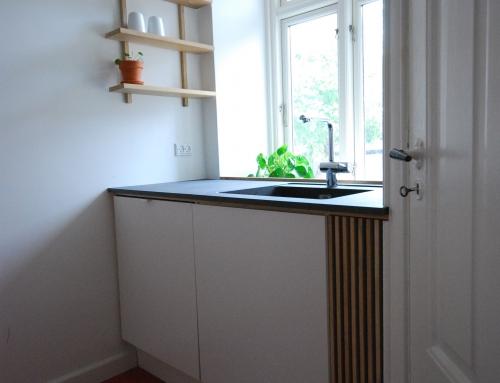 Totalrenovering af lejlighed, 8000 Aarhus C